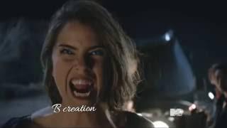 Teen Wolf 4x01 - Stiles and Malia scene