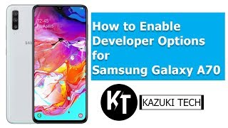 How to Enable Developer Options for Samsung A70