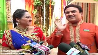 "Making of SAB TV Serial ""Taarak Mehta Ka Ooltah Chashmah"" Republic Day Celebration"