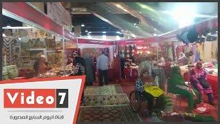 """شاهد أهم منتجات معرض الأسر المنتجة """"ديارنا"""" بأرض المعارض"""