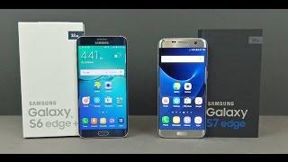 Samsung Galaxy S7 Edge vs Galaxy S6 Edge Plus Comparison