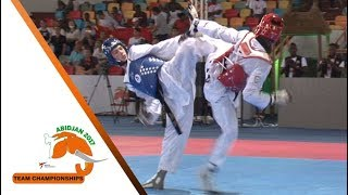 [Semi-Final] Male Team | Russia vs. Cote d'Ivoire | 2017 World Taekwondo Team Championships