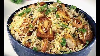 Veg Kathal Biryani Recipe | वेज कटहल बिरयानी | How to Cook Jack Fruit Biryani | Indian Rice Recipes