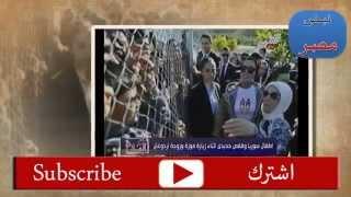 زوجة اردوغان والشيخة موزة يضعان الاطفال السورييين بأقفاص الحيوانات ويلتقطون الصور بجانبهم26