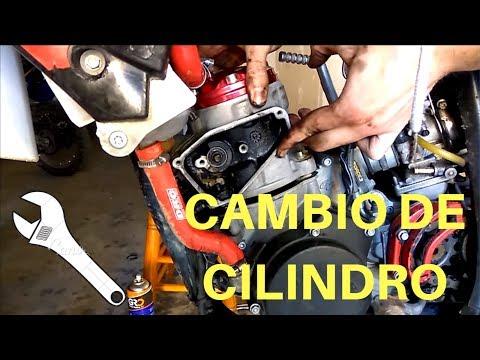 Tutorial COMO CAMBIAR CILINDRO PISTÓN Y CULATA S3 Gas Gas ec 250 2t