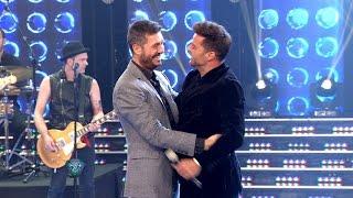 ¡A pura música y carisma, Ricky Martin conquistó Showmatch!