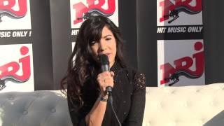 Indila - Interview au NRJ Music Tour - Bruxelles