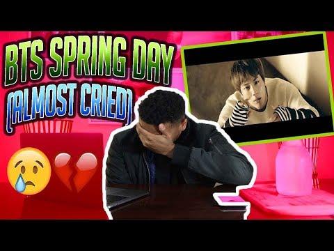 BTS (방탄소년단) '봄날 (Spring Day)' Official MV (REACTION!!!)