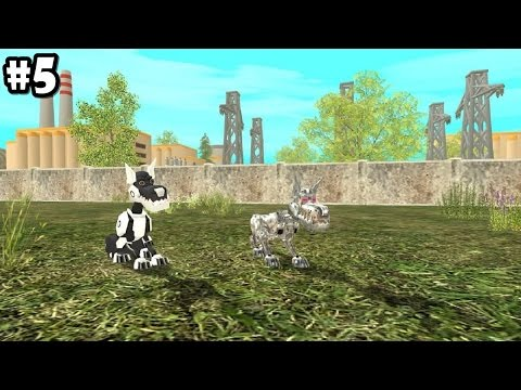 Dog Sim Online - ROBO-DOGS - Android / iOS - Gameplay part 5