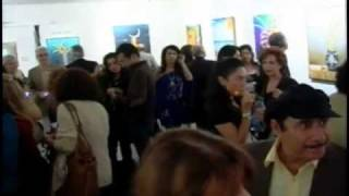 Latest Video of Nozar Azadi (Ghatebeh) Opening night at Seyhoun Gallery Special Report Part 1 of 2