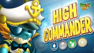 The High Commander Dragon is here (first one with Special Skills)!!  Dragon City