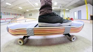 THE STRONGEST SKATEBOARD! / Can You Skate It?