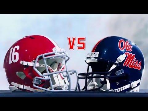 Alabama vs. Ole Miss Highlights 2016