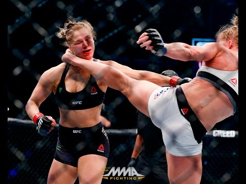 Xxx Mp4 UFC 193 Rewind Holly Holm 39 S Shocking Win Against Ronda Rousey 3gp Sex