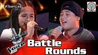 The Voice Teens Philippines Battle Round: Felipe vs Mia - Killing Me Softly