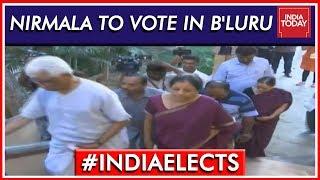 Nirmala Sitharaman To Cast Vote In Bengaluru | Lok Sabha Elections 2019