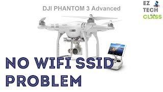 Phantom 3 Advanced Wifi connection problem - No SSID