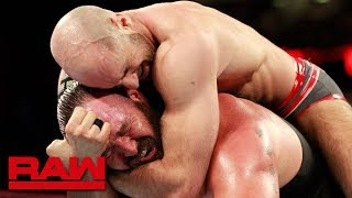 Braun Strowman vs. Cesaro: Raw, March 19, 2018