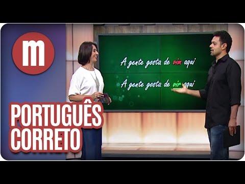 watch Mulheres - Erros comuns da língua portuguesa (29/03/16)