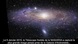 Un Téléscope de la Nasa braqué sur la Galaxie d'Andromède