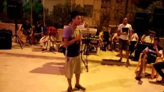 .#chab Ayman Hazmoun.      يبدع ويمتع استخبار +اغنية حمامة طارت