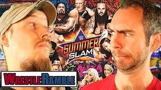 WWE Summerslam 2017 & NXT: TakeOver Predictions!   WrestleRamble