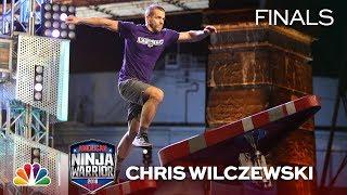 Chris Wilczewski at the Philadelphia City Finals - American Ninja Warrior 2018