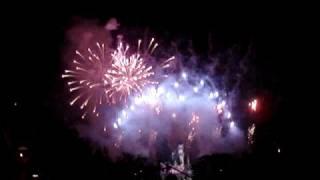 Miley Cyrus Sweet 16 Fireworks