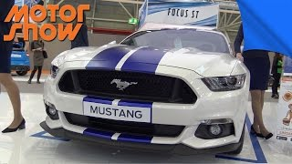 MOTORSHOW 2016 | FORD MUSTANG GT 5.0 E 2.3 ECOBOOST