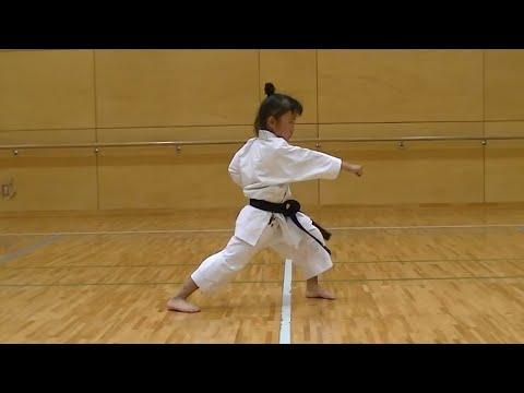 7 Year Old Girl Karate Master Incredible Kankudai Demo