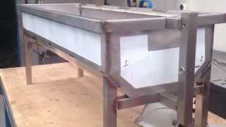 SS Rotisserie Spit Fabrication.