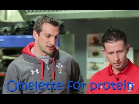 Dieting tips from rugby player Sam Warburton   WRU TV