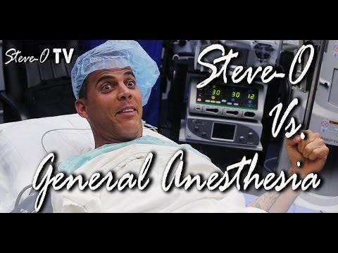 Steve O vs. General Anesthesia