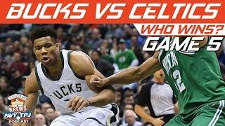 Boston Celtics vs Milwaukee Bucks | Game 5 | Who will win ? | Hoops N Brews