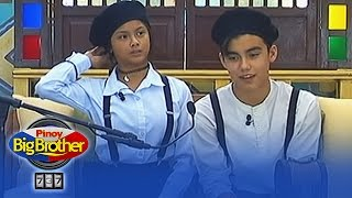 Bailey at Ylona, sumabak na sa tagalog test ni Kuya