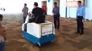 KLENCO Tennant Carpet Sweeper @Ngurah rai international airport Bali