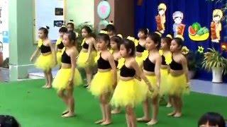 Xuan Mau Go Vap- Trường Mầm non Anh Đào- Khối lớp Lá - múa: Em chúc Xuân (Go Vap 27-1-2016)