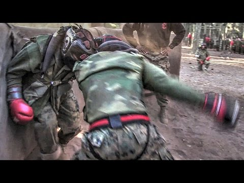 Body Sparring – Recruits Fight at Marine Corps Boot Camp