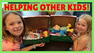 Packing Toys for Operation Christmas Child ~ Samaritan