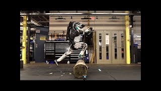 Atlas Updates - Amazing Humanoid Robot With Artificial Intelligence From Boston Dynamics