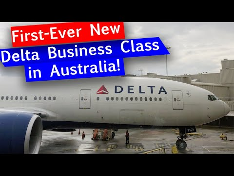 Xxx Mp4 Delta Air Lines Refurbished 777 From SYD To LAX NEW Delta One Suites 3gp Sex