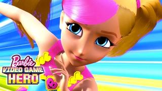 Barbie Video Game Hero Movie Exclusive 11-Minute Premiere | Barbie