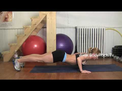 Fitness Dive Bomber Push Ups Exercise