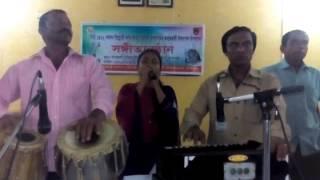 amar ganer mala ami korbo kkare dan. অামার গানের মালা অামি করবো কারে দান।