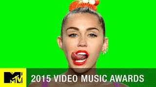 Miley's Tongue Is Out For The VMAs | MTV VMA 2015