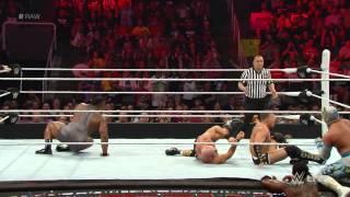 Big E & Kofi Kingston & Lucha Dragons vs. Cesaro & Kidd & The Ascension: Raw, March 30, 2015