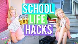 SCHOOL LIFE HACKS 2016 : BACK TO SCHOOL | Kalista Elaine