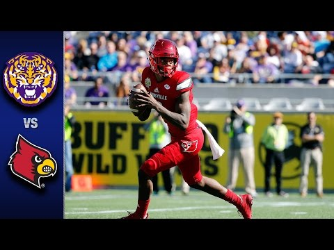 Louisville vs. LSU Citrus Bowl Highlights 2016