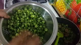 طبخ مرقة الباقلاء الخضراء باسهل طريقة واطعم مذاق
