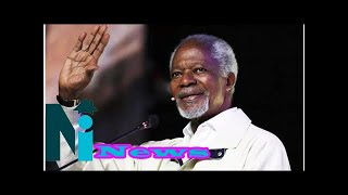 Just in: Buhari calls Ghanaian president from London to mourn Kofi Annan